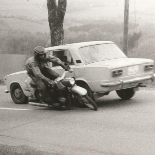 Motorradstunts