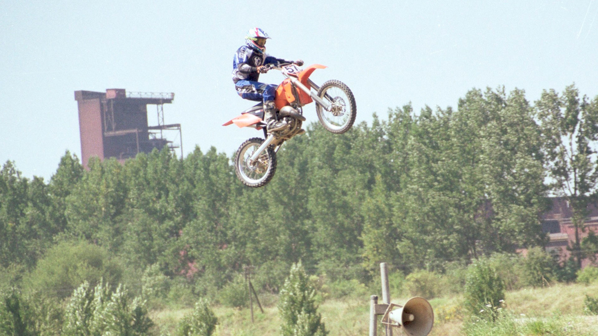 Motocross Stunt Sprung
